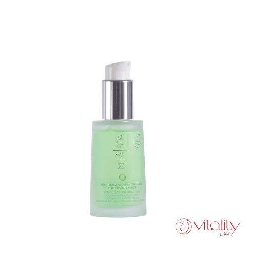 Oily and impure skin soothing serum