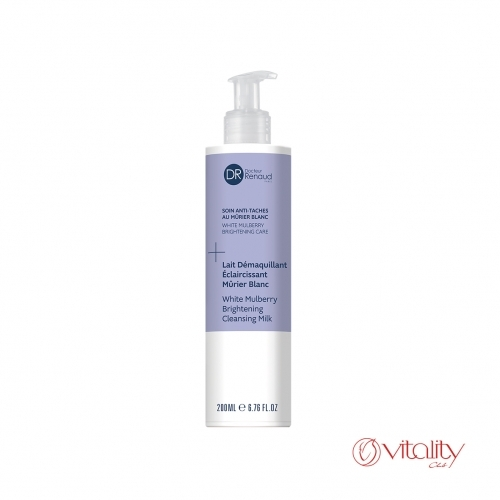White mulberry brightening cleansing milk
